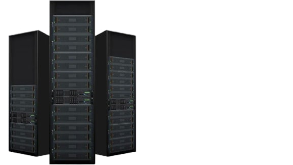 Three storage servers