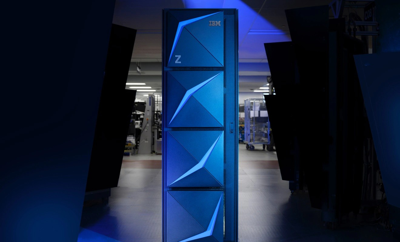 IBM z15 mainframe server