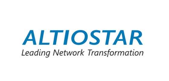 Logo d'Altiostar Leading Network Transformation