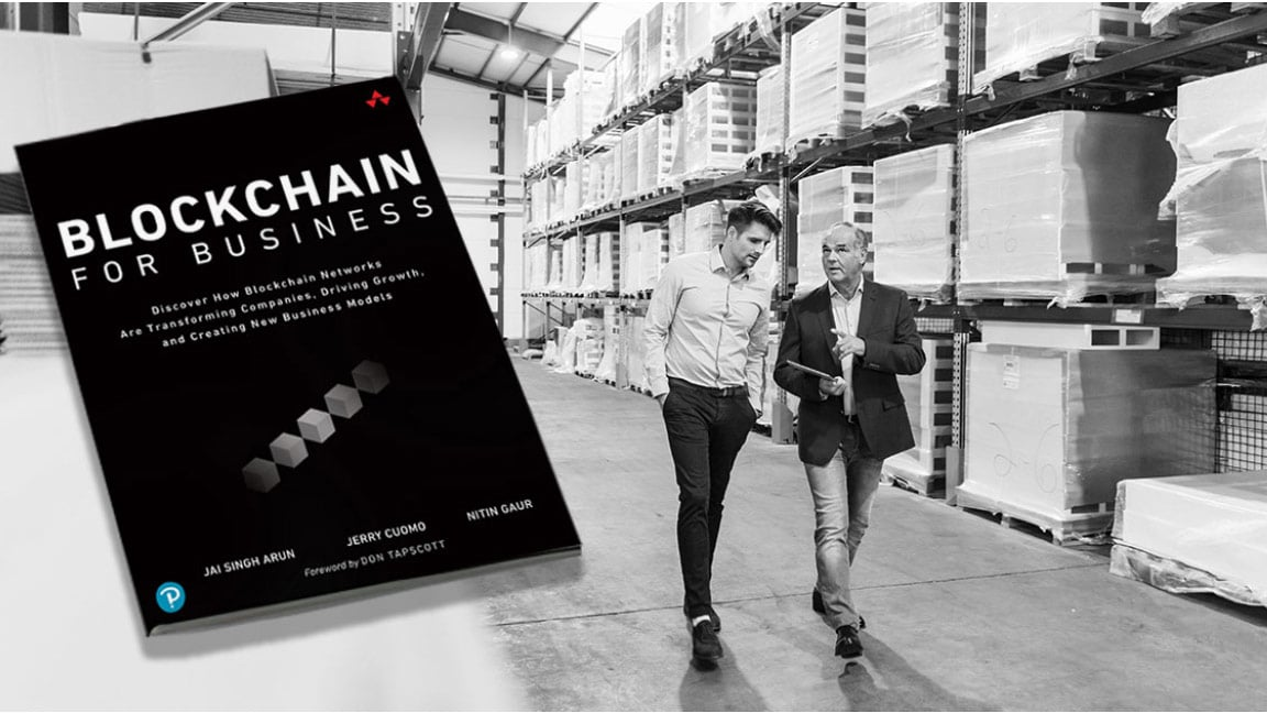 Blockchain for Business - cover of report