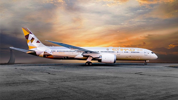 Etihad airplane