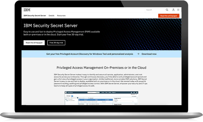 IBM Security Secret Server