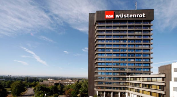Exterior of Wustenrot building