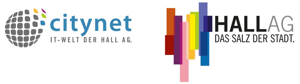 Hall AG and Citynet logo