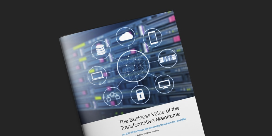 IDC analyst report on the business value of the mainframe