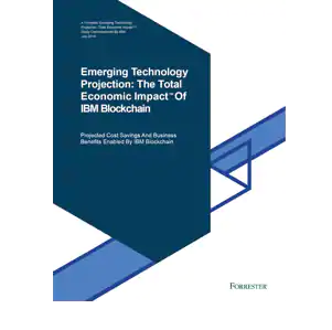 Emerging Technology Projection, Buchcover