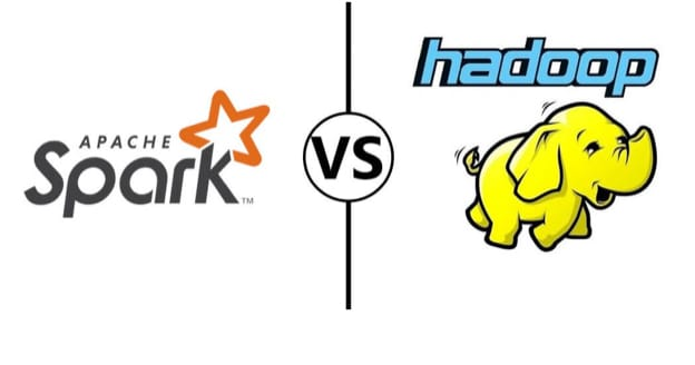 Apache Spark and Apache Hadoop logos