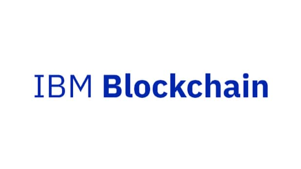 IBM Blockchain wordmark