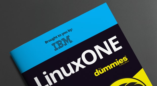 Cover the LinuxONE for Dummies book