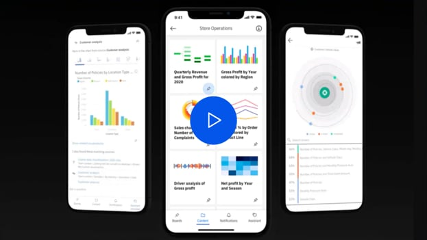 Neue IBM Cognos Analytics Mobile App
