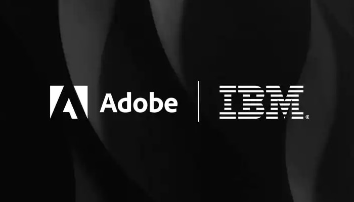 Adobe and IBM logos