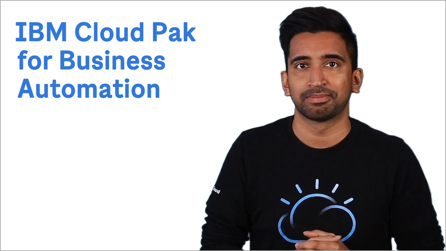 Einführung in IBM Cloud Pak for Business Automation auf Basis von KI