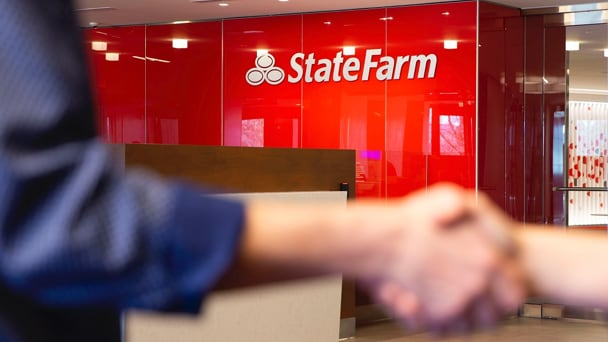 State Farm store front