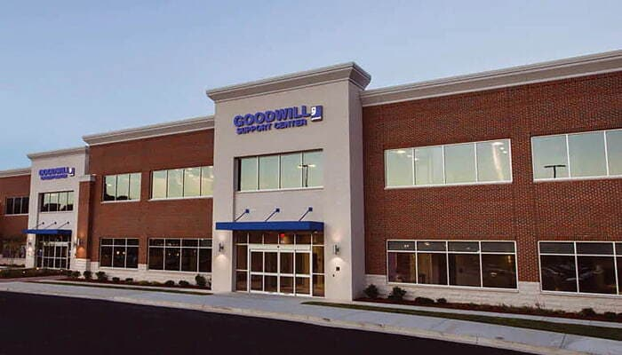 Goodwill organization's front view