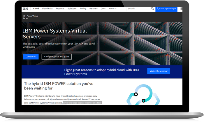 IBM Power Systems Virtual Servers