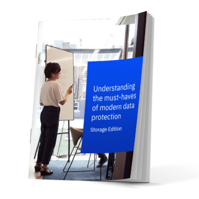 Modern data protection ebook cover