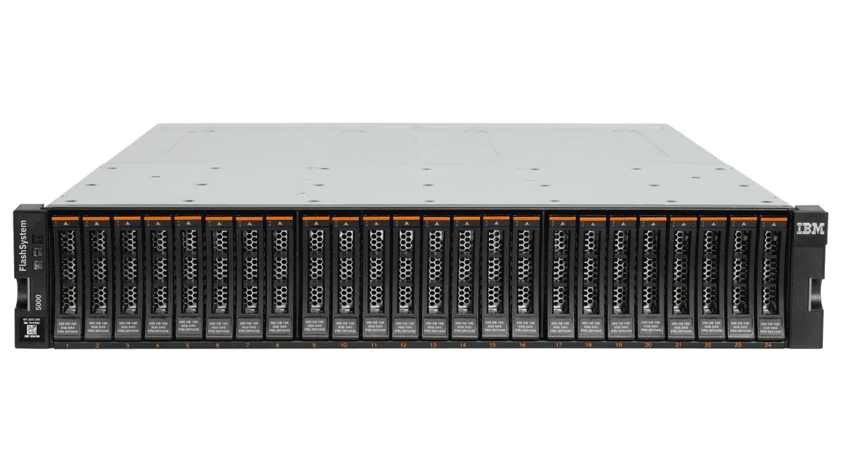 IBM FlashSystem 5000 precedentemente noto come Storwize V5000E