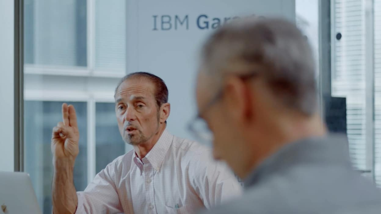 The Climate Service + IBM Garage: Weathering Disruption to Deliver Results