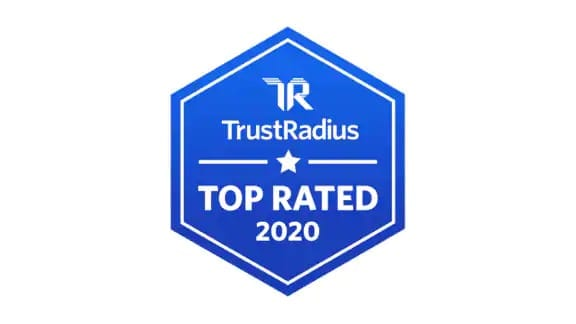 TrustRadius Top Rated 2020 logo