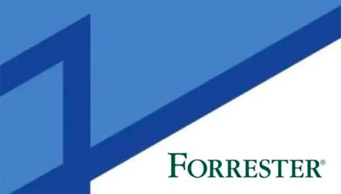 Document cover with Forrester logo