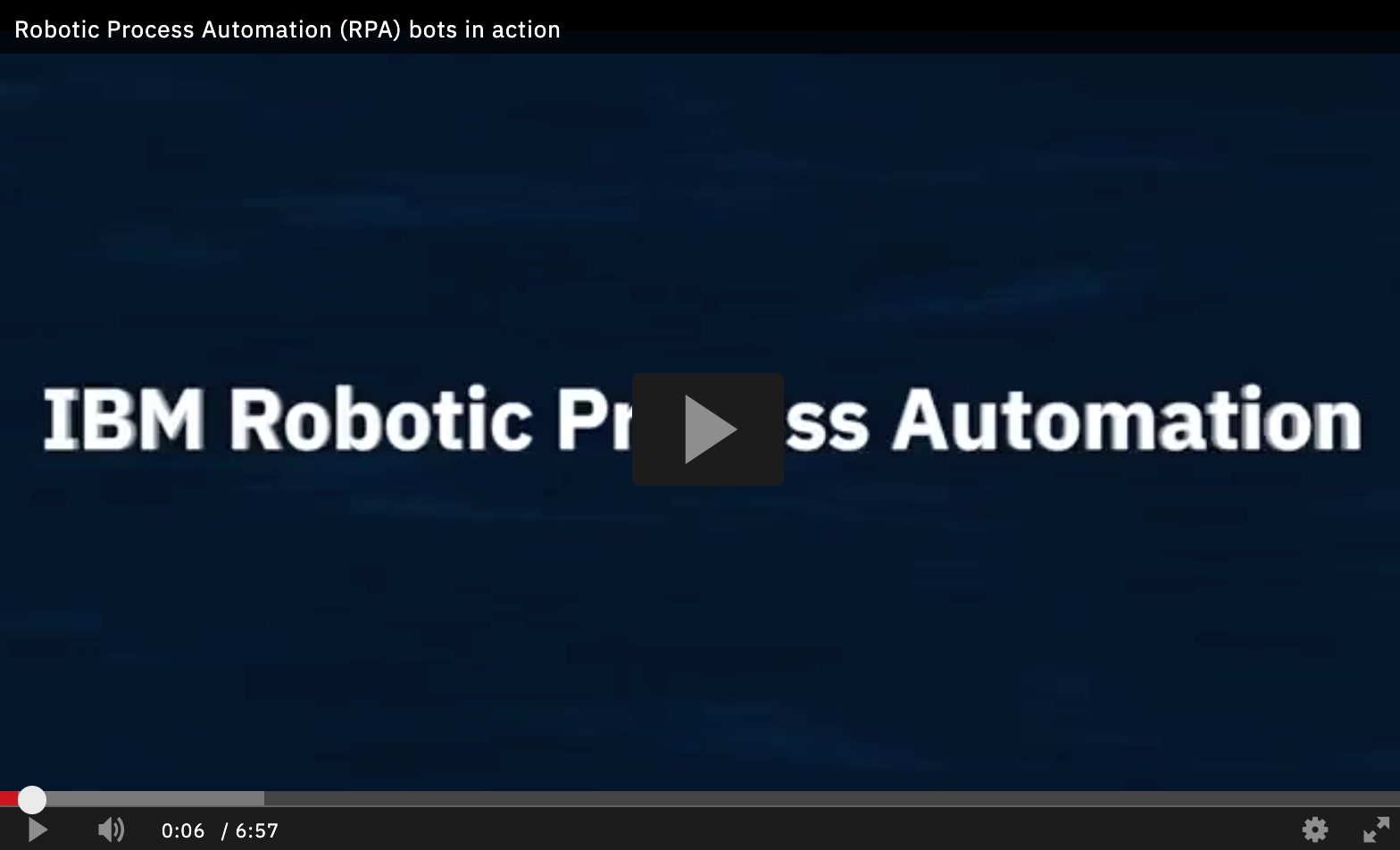 Robotic Process Automation (RPA) bots in action