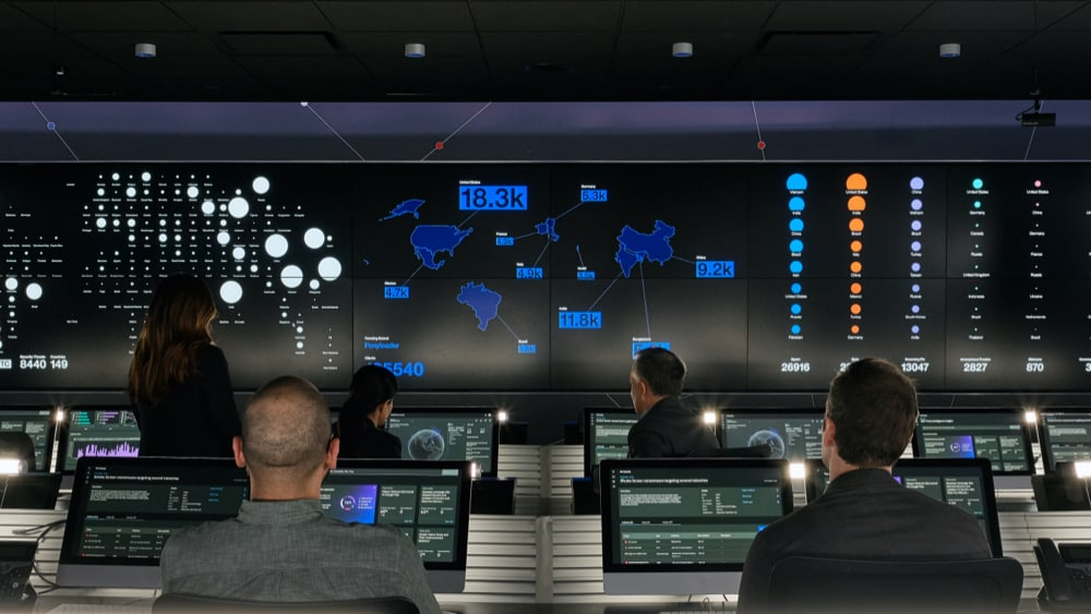 IBM's security command center