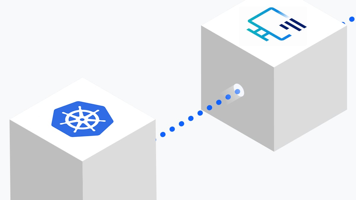 Illustration of Kubernetes logging in IBM Cloud Log Analysis