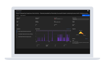 Screenshot for IBM QRadar on Cloud