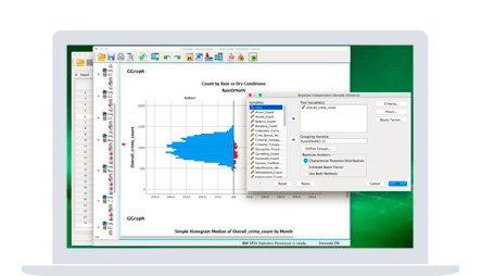 Screenshot for IBM SPSS Statistics