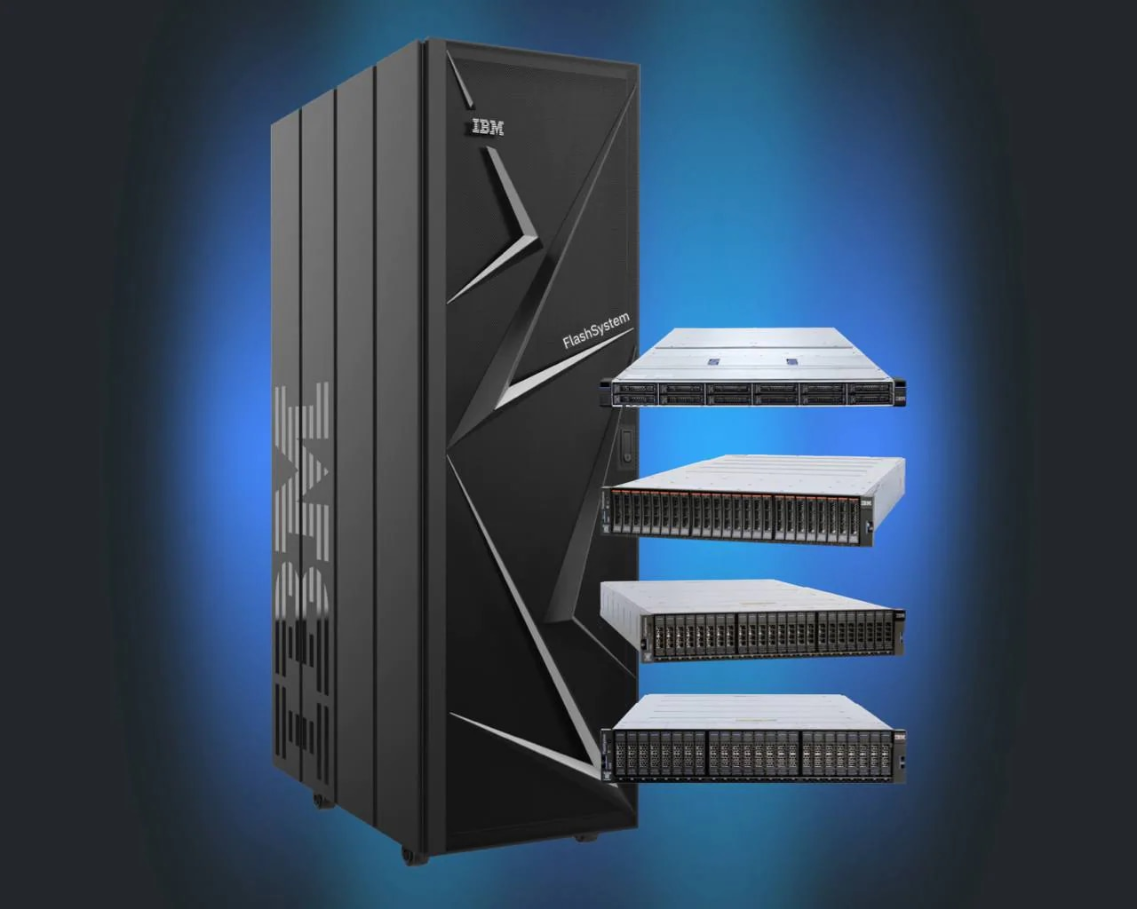 IBM FlashSystem server family