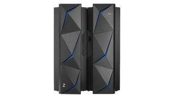 IBM z14 dual frame, front view