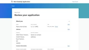 Universal Access Application Review