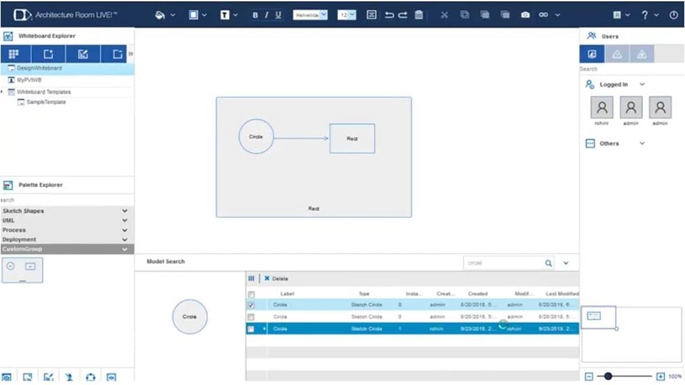 IBM Architecture Room Live screenshot
