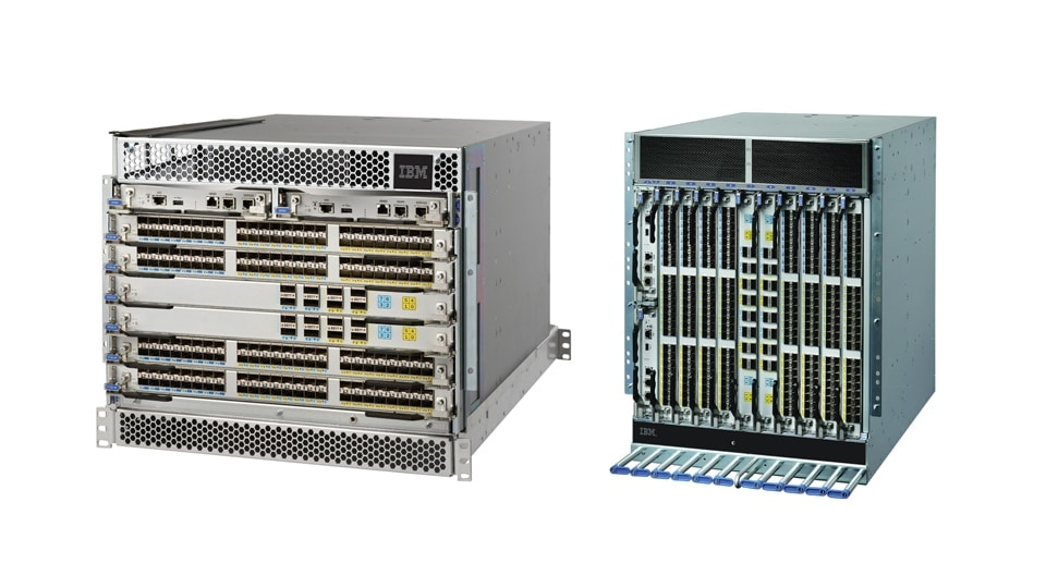 IBM® Storage Networking SAN512B-6 and SAN256B-6