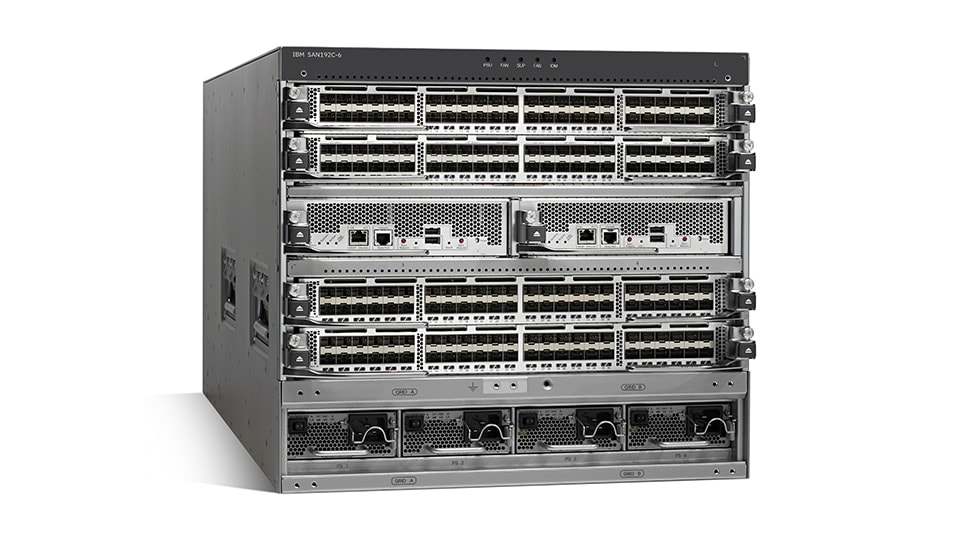 IBM Storage Networking SAN192C-6 director-class SAN switch