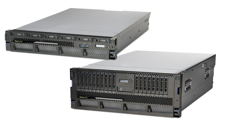 Servidores IBM Power Systems POWER9