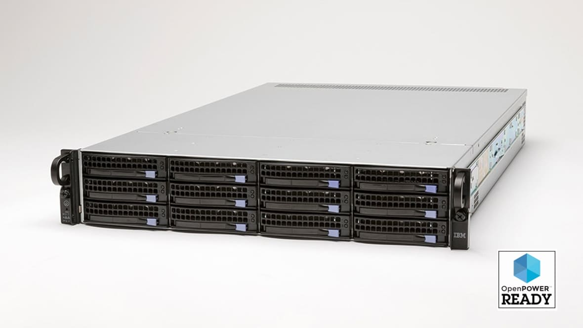 IBM Power Systems LC921 server front view
