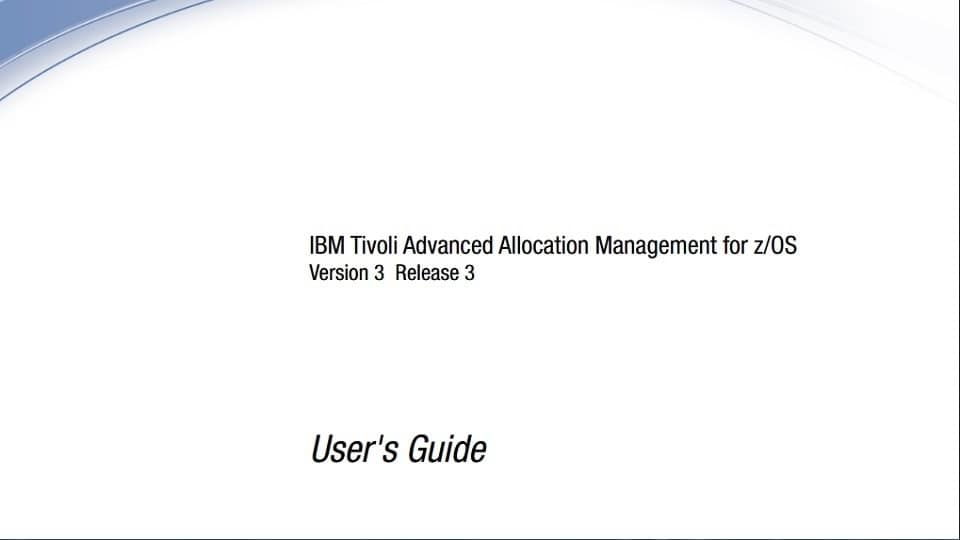 print screen of the cover page of user's guide