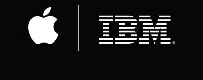 Apple and IBM logo