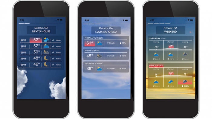 Weather InSight - mobile weather experiences with the power of AI