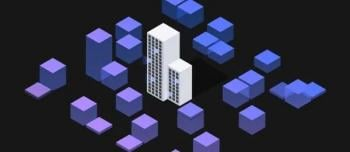 Abstract image of towers