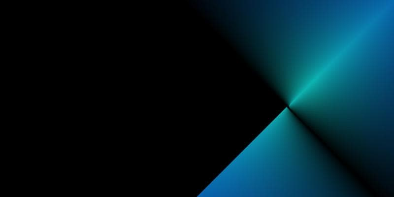 Abstract black and blue image.