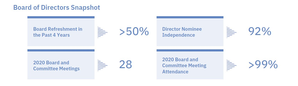 Board of Directors Snapshot
