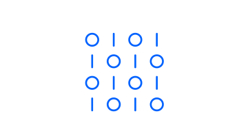 Icon representing the integration of RPA with a data-capture solution