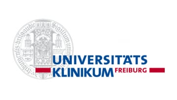 Medical center uses IBM MQ as depicted by the Freiburg University logo
