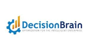 Graphic logo representing Decision Brain, an IBM Business Partner that sells and implements IBM optimization and advanced analytics solutions and technologies