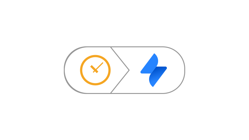 Icon showing connection between Scheduler and Jira Service Desk
