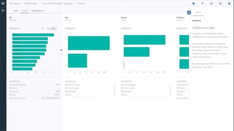 Screenshot showing Watson Studio Desktop Data Refinery
