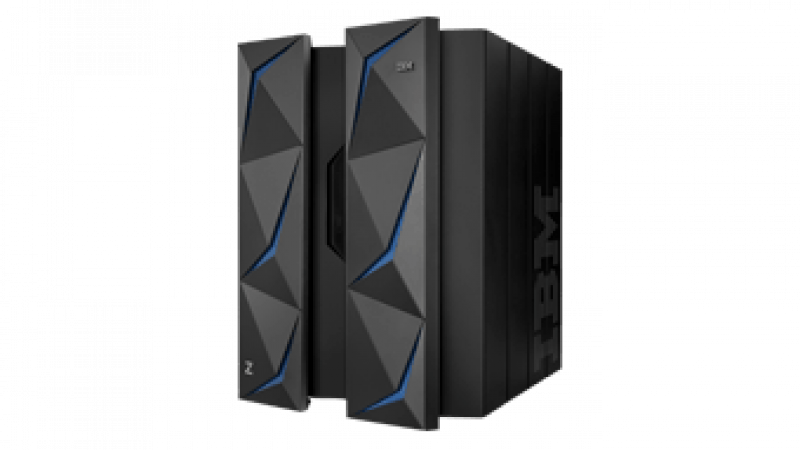 IBM z14 dual frame, side view