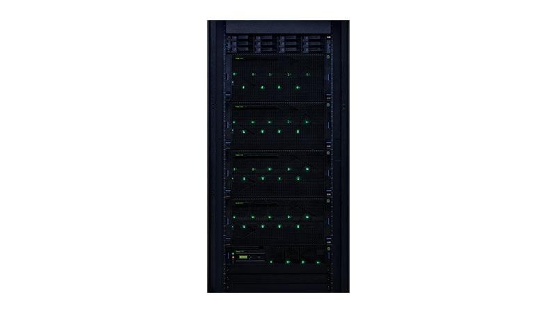 Power E980 in un rack
